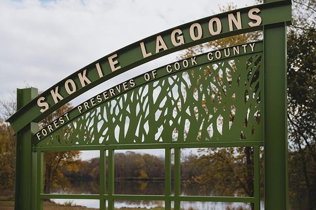 Skokie Lagoons, Multiple Locations
