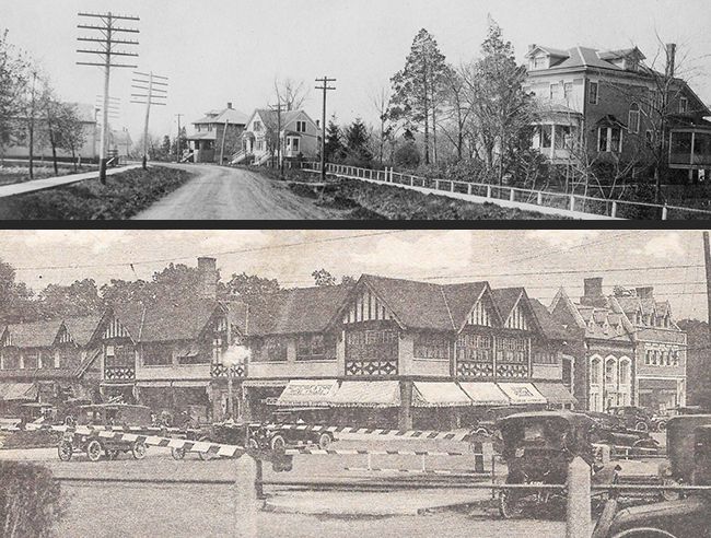 T: Historic Northbrook, Northbrook Historical Society; B: Historic Winnetka, Winnetka Historical Society