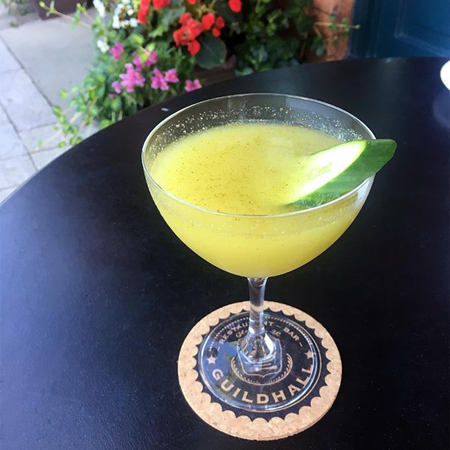 Cucumber Martini, Guildhall, Glencoe