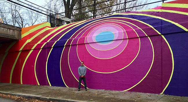 Dustin Harris Mural, Evanston