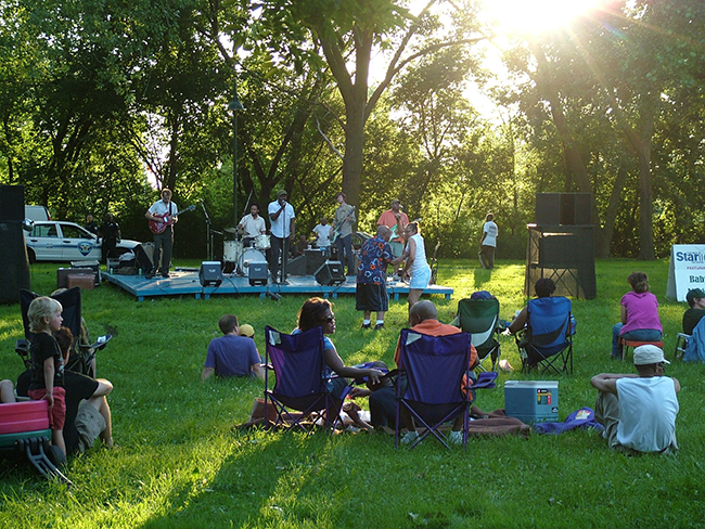 Starlight Concerts in the Park, Evanston