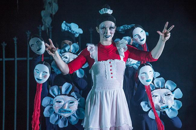 Winter Circus: The Ghost in Gadsden's Garden, Actors Gymnasium, Evanston