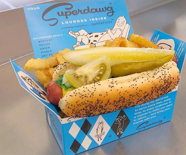 Superdawg, Wheeling