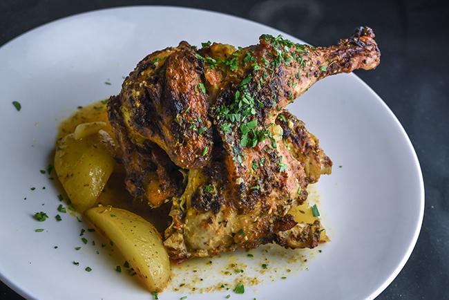 Chicken Rigannati, Plateia Mediterranean Kitchen and Bar, Des Plaines