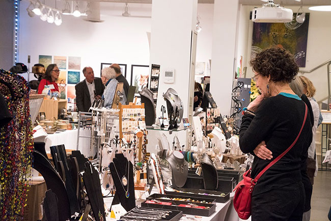 2019 Winter Art & Crafts Expo, Evanston Art Center, Evanston