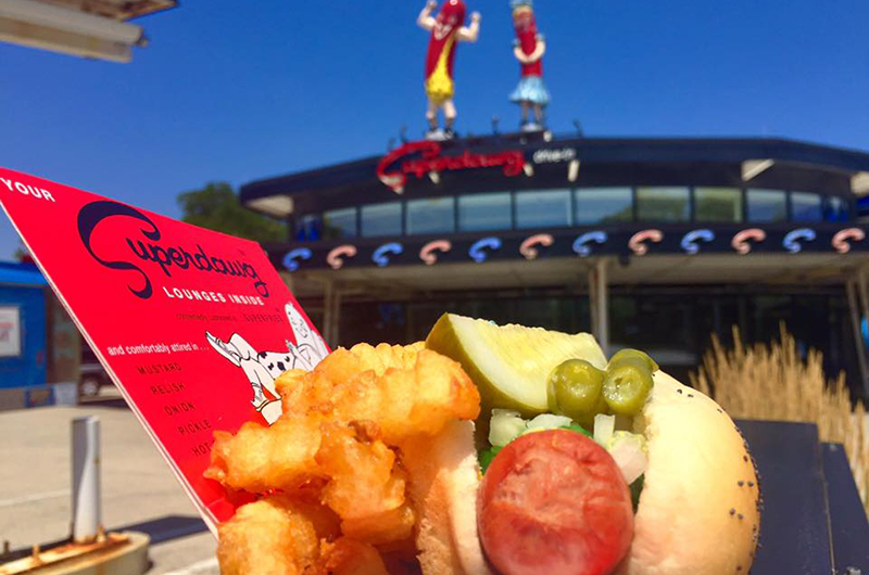 Superdawg Drive-In, 333 S. Milwaukee Ave., Wheeling