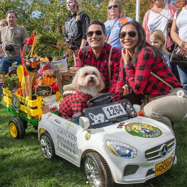 Chicago Botanic Garden Spooky Pup Parade