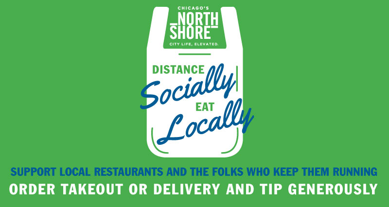 Distance Socially, Takeout Locally