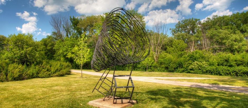 Spring Break at Skokie Northshore Sculpture Park