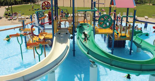 Skokie Water Playground