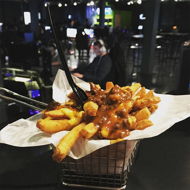 French Fries at Ignite Gaming, Skokie
