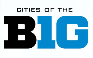 Cities of the Big Ten Logo