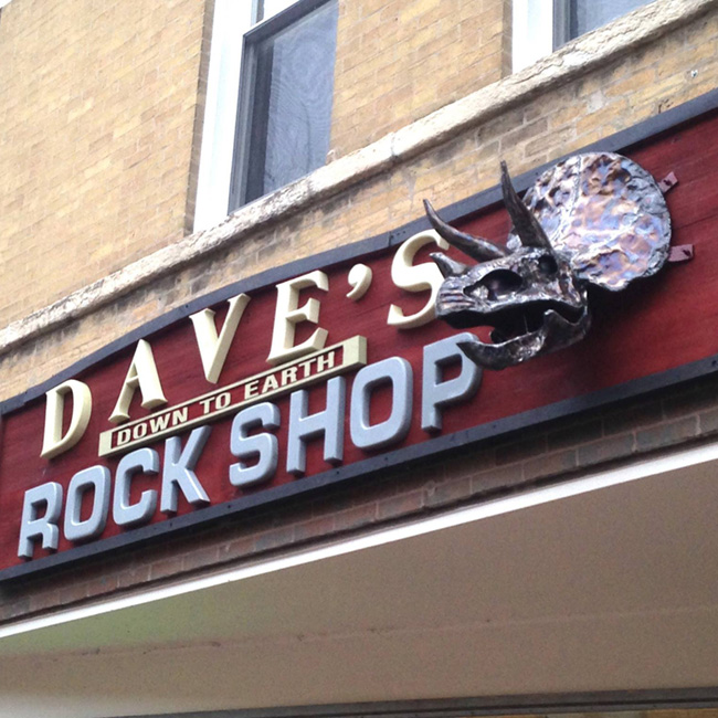 Dave's Down to Earth Rock Shop