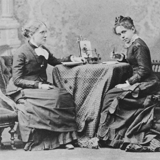 Frances Willard and longtime secretary and companion Anna Gordon