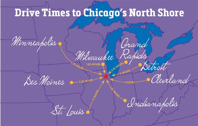 Chicago Regional Map