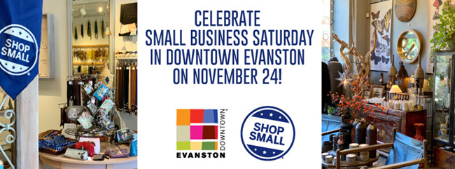 Small Business Saturday in Downtown Evanston