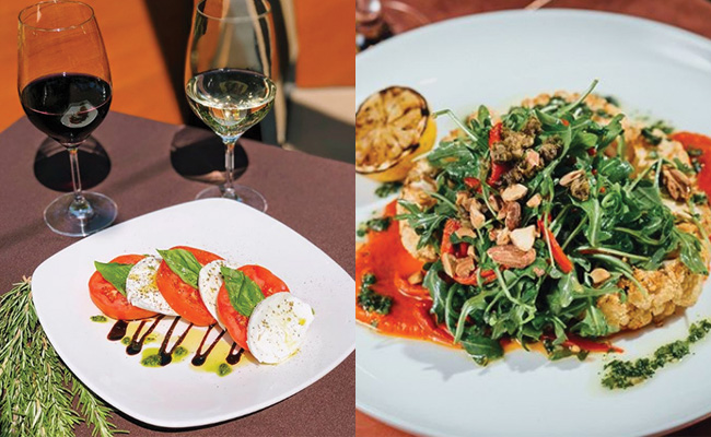 L: City Works Restaurant, Wheeling; R: Tuscany, Wheeling