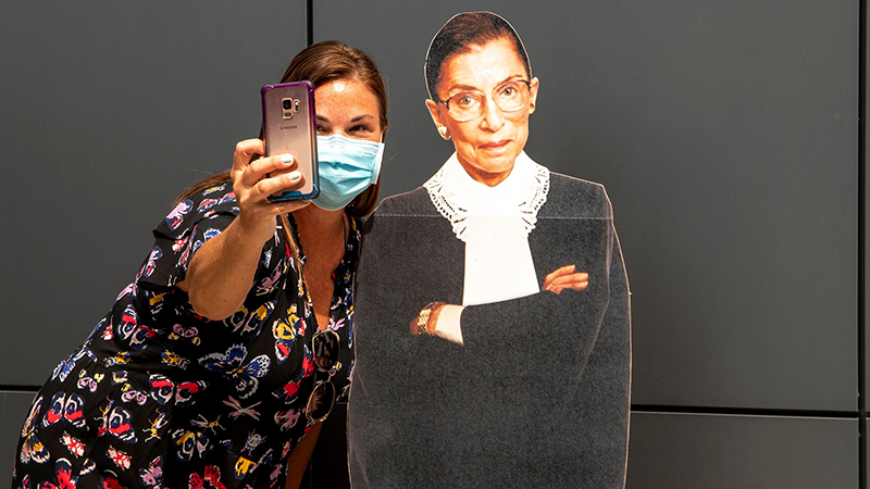 Notorious RBG Exhibit, Illinois Holocaust Museum, Skokie