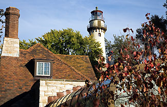 Grosse Point Lighthouse, Evanston, Illinois